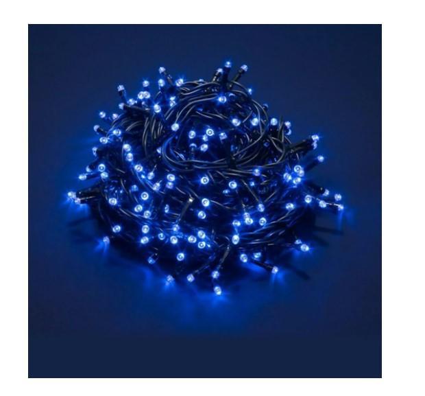 Luci 180Led Blu 5 mt con Giochi di Luce