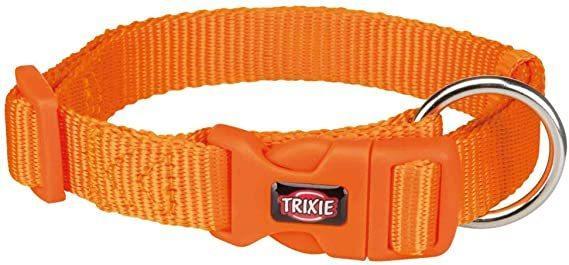 Trixie Collare Regolabile Per Cani Taglia Media M L Arancione 33-55 cm