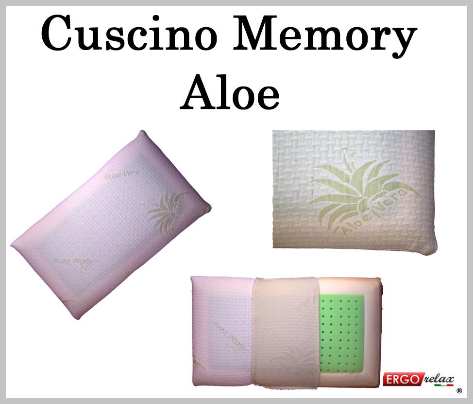 Cuscino Memory Aloe Traforato Sfoderabile