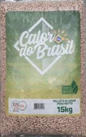 Pellet Calor do Brasil 15 Kg/Bancale