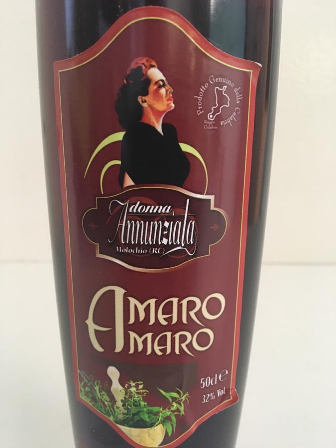 Amaro Amaro, Liquori Tedesco, 50 cl