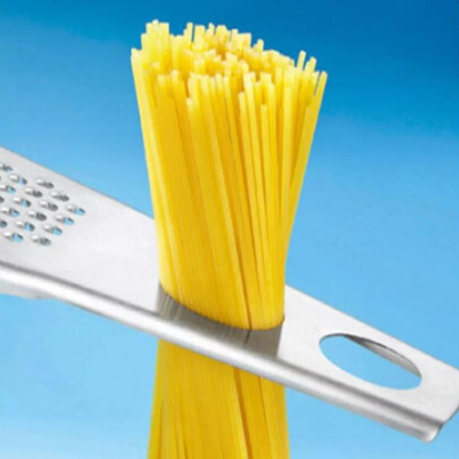 Mestolo pasta spaghetti con grattugia Misuratore per pasta  3 in 1 acciaio inox formaggio verdure