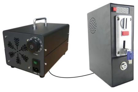 Ozonizzatore da 10g/h con Gettoniera multimoneta