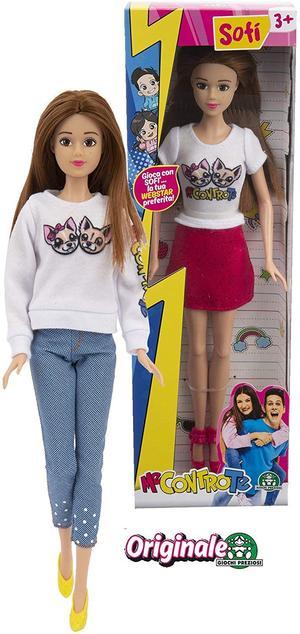 Me Contro Te Bambola Sofì con Jeans 30 cm