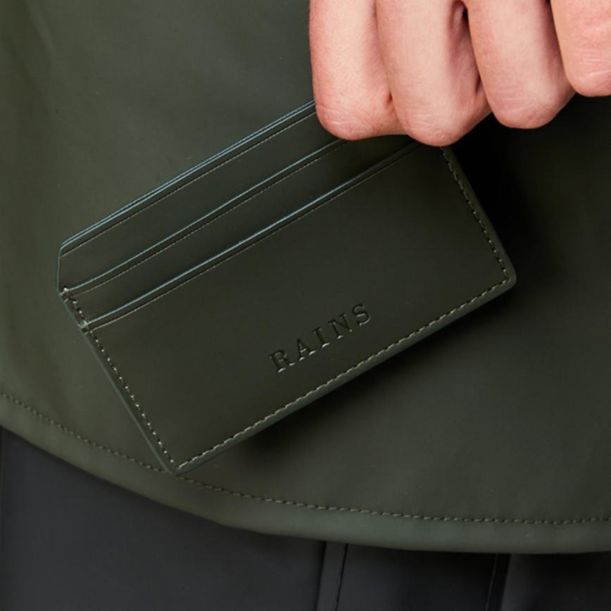 Rains Card Holder - Green