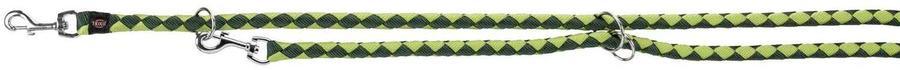 Trixie XL Guinzaglio Tubolare Da Addestramento Per Cani Regolabile Verde 2M
