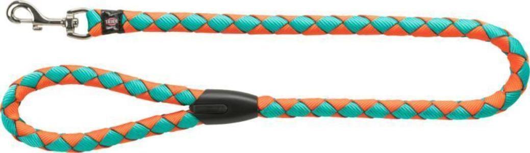 Trixie S M Guinzaglio Tubolare Per Cani Arancione 1 Metro Spesso 12mm