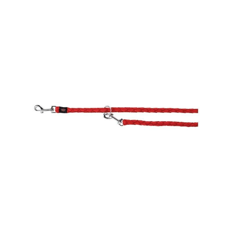 Trixie XL Guinzaglio Tubolare Da Addestramento Per Cani Regolabile Rosso 2 Metri