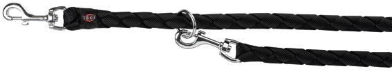 Trixie XL Guinzaglio Tubolare Da Addestramento Per Cani Regolabile Nero 2m