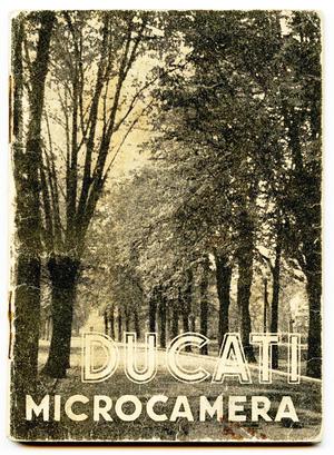Ducati Sogno - libretto istruzioni  - cartaceo - raro