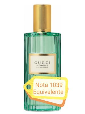Nota 1039 ricorda Gucci Memoire d'une Odeur