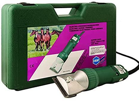 Tosatrice per cavalli Liscop SUPER3000 con pettine e coltello LCA2