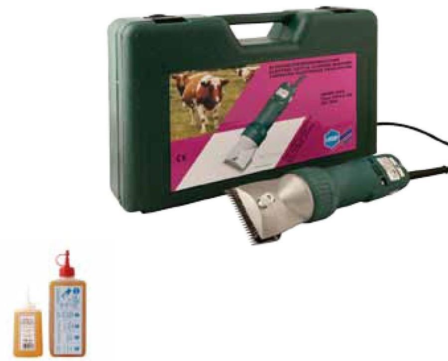 Tosatrice per Bovini Liscop SUPER 3000 con lame LI A7 per bovini con pelo sporco o arruffato