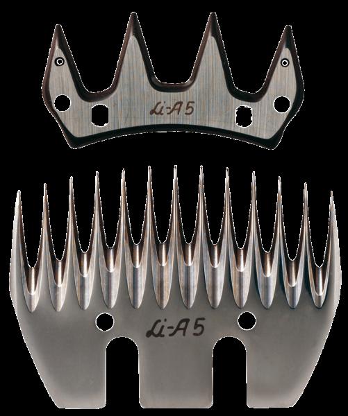 Tosatrice per ovini Liscop SUPER profi 3000 con pettine e coltello LCA5