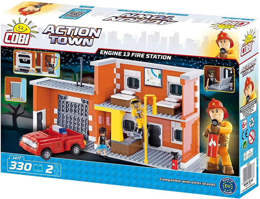 COBI- Action Town-Engine13 Fire Station