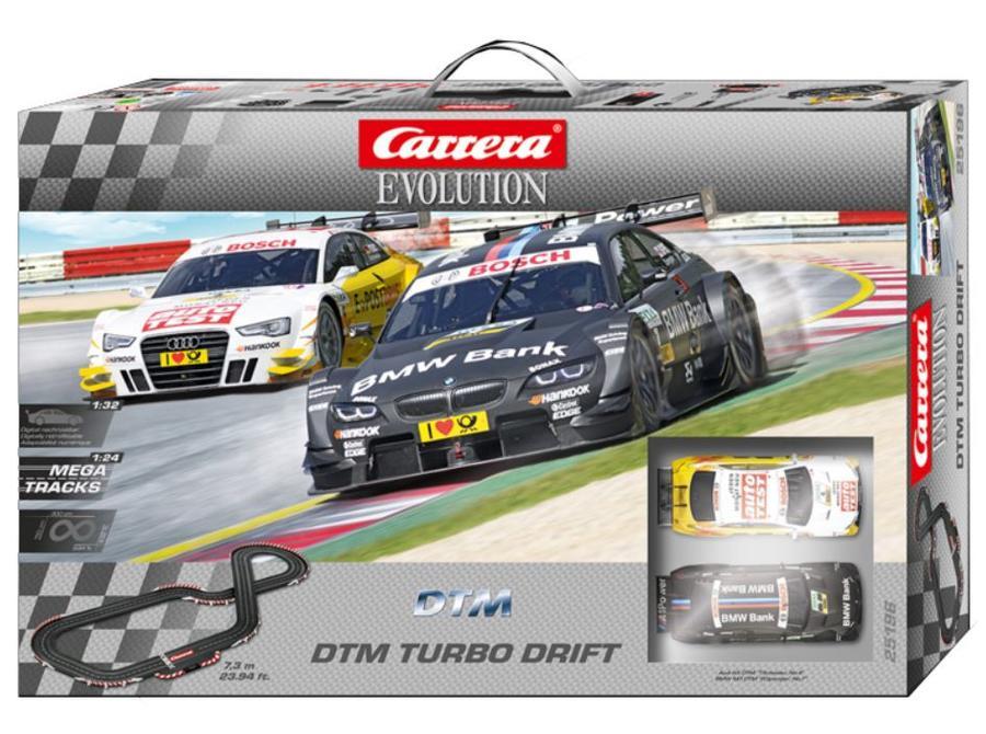 Autopista Elettrica Carrera EVOLUTION DTM Turbo Drift