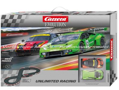 Autopista Elettrica Carrera EVOLUTION Unlimited Racing