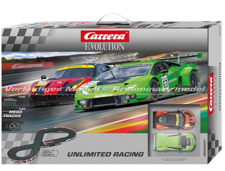 Autopista Elettrica Carrera EVOLUTION Unlimited Racing