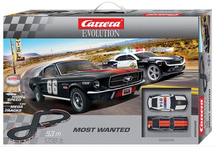 Autopista Elettrica Carrera EVOLUTION Most Wanted