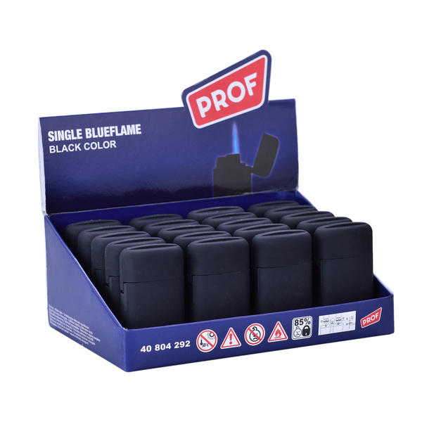 ACCENDINI PROF JET FLAME BLACK PZ 20