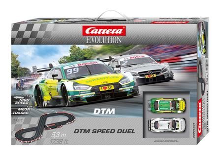 Autopista Elettrica Carrera EVOLUTION DTM Speed Duel
