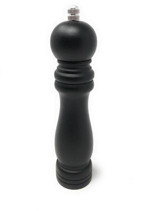 Macinapepe manuale in legno Macina pepe sale manuale nero opaco trita spezie macinino da cucina