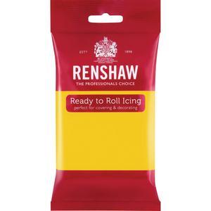 Pasta di zucchero Renshaw Pro giallo 250 gr