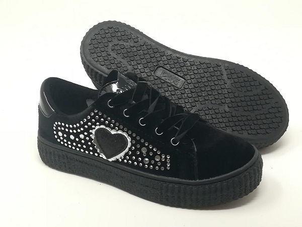 Sneaker Velluto Strass - PRIMIGI