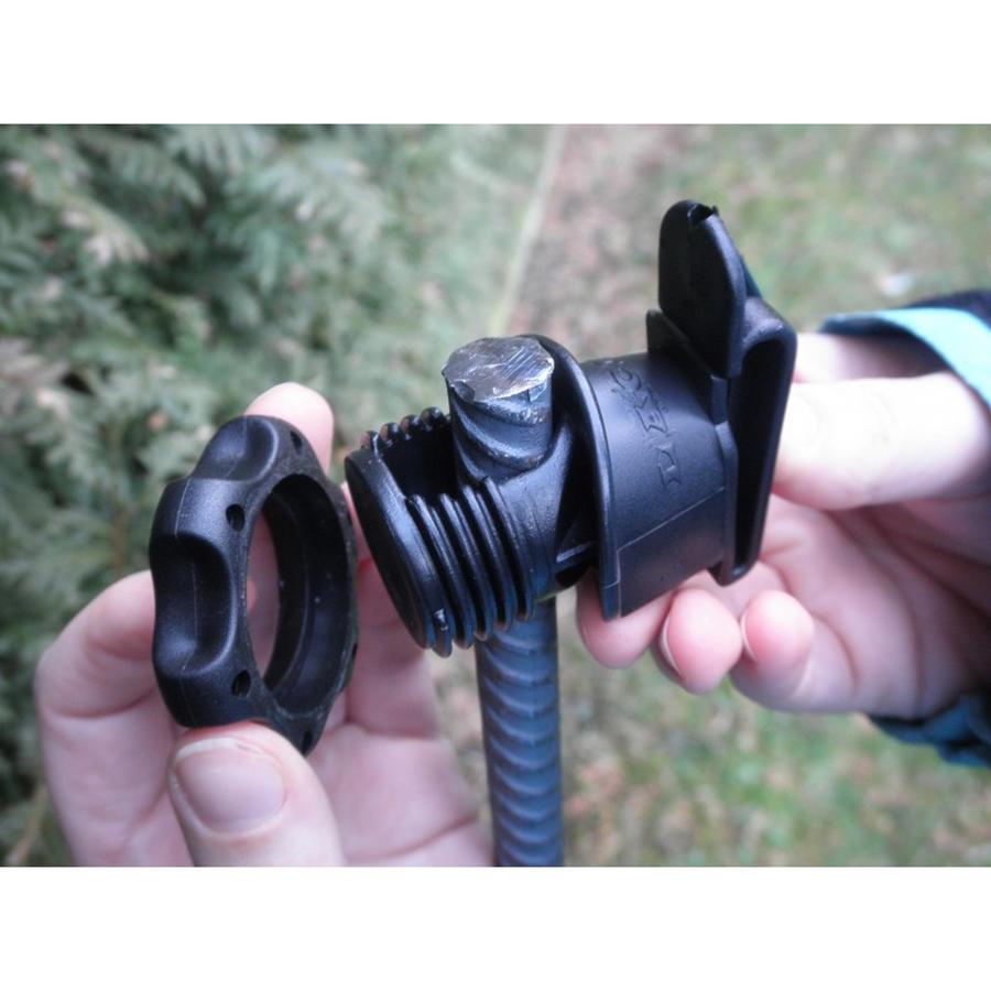 Isolatore per banda fino 4 cm tipo IRUBLOC per picchetti in ferro conf. da 25pz