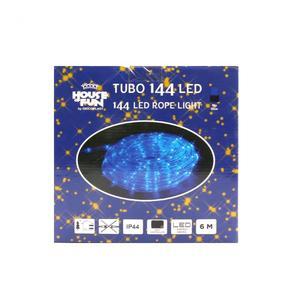 Tubo 144Led Blu con Giochi di Luce 6 mt
