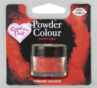 Powder Colour Poppy Red