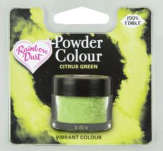 Powder Colour Citrus Green