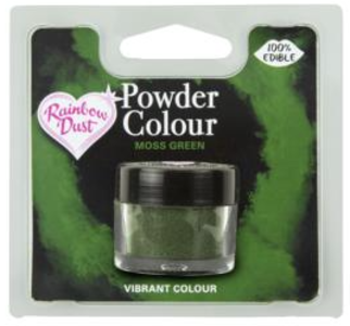 Powder Colour Moss Green