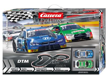 Autopista Elettrica Carrera EVOLUTION DTM Ready to Roar