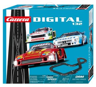 Autopista Elettrica Carrera DIGITAL 132 DRM Retro Race