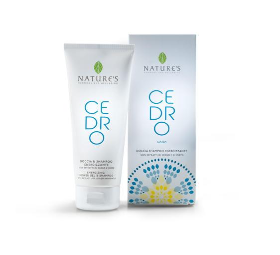 Doccia Shampoo Energizzante 200 ml - Cedro Uomo