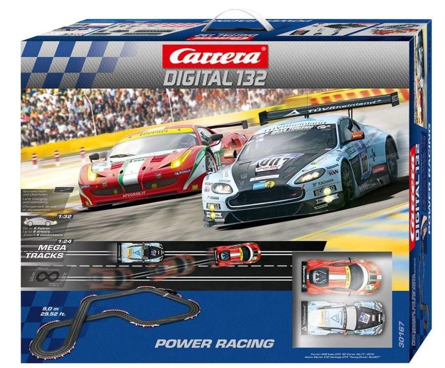 Autopista Elettrica Carrera DIGITAL 132 Power Racing