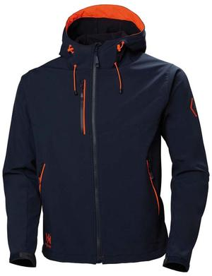Giacca Impermeabile Chelsea Evolution Blu Navy di Helly Hansen