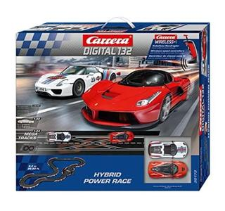 Autopista Elettrica Carrera DIGITAL 132 Hybrid Power Race Wireless+