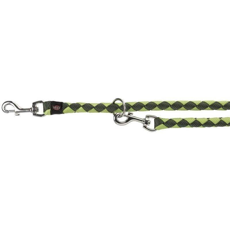 Trixie S M Guinzaglio Tubolare Da Addestramento Per Cani Regolabile Verde 2M