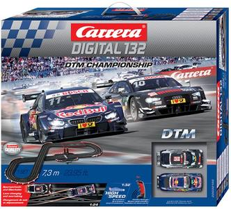 Autopista Elettrica Carrera DIGITAL 132 Wireless+ DTM Championship