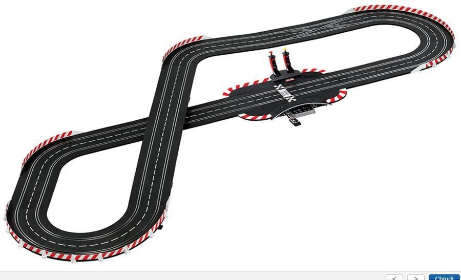 Autopista Elettrica Carrera DIGITAL 132 Wireless+ DTM Championship