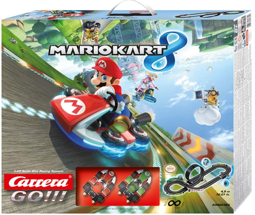 Autopista Elettrica Carrera GO!!! Nintendo Mario Kart 8 II - Mario vs Luigi