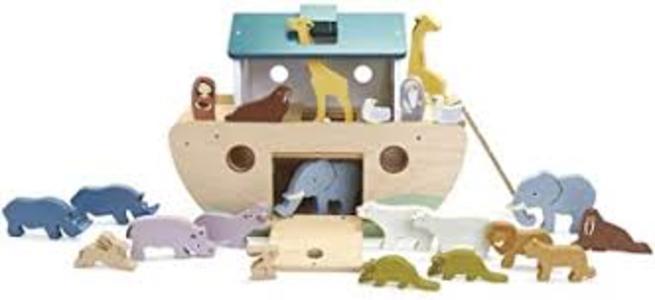 ARCA DI NOE' XL con ANIMALI IN LEGNO