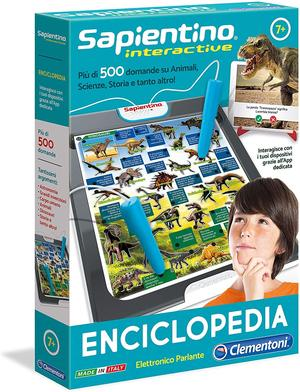 Sapientino interactive Enciclopedia - Clementoni 11999 - 7+ anni