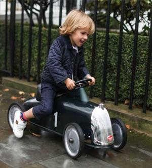 """Cavalcabile in Metallo """"Rider Gentleman"""" per Bambini della Linea I Riders di Baghera 845"""