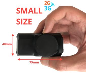 GPS TRACKER Mod. WAY-3000 (20 giorni) Ver. Shrink Wrap