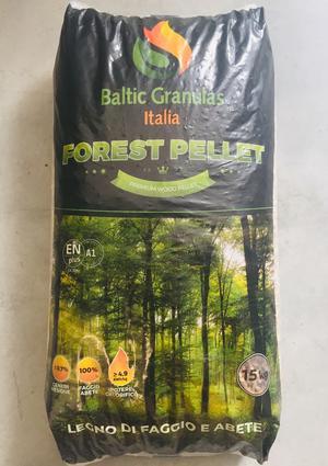 Pellet Forest Sacco 15 Kg