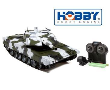 Carro Armato Military Leopard 2a6 Winter RC Radiocomandato 2.4G Premium Label di HOBBY ENGINE