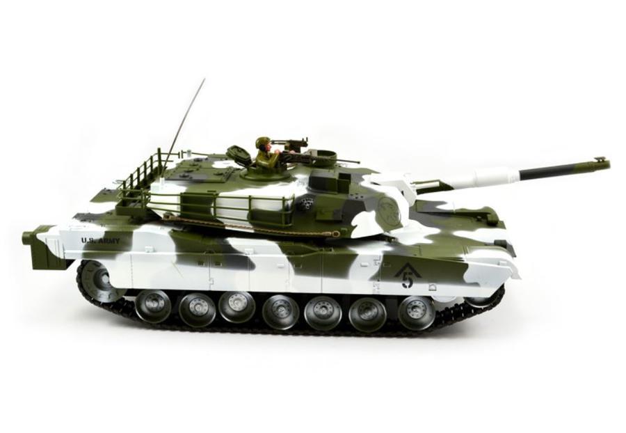 Carro Armato M1A1 Abrams Winter Tank Military RC Radiocomandato 2.4G Premium Label di HOBBY ENGINE